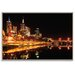 Artist Lane 'City Glow' by Andrew Paranavitana Framed Photographic Print on Wrapped Canvas