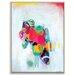 Artist Lane 'Samba Em Salvador' by Amira Rahim Framed Art Print on Wrapped Canvas