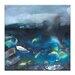 Artist Lane 'Coast #4' by Katherine Boland Art Print Wrapped on Canvas