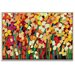 Artist Lane 'Skeeta Daisies' by Anna Blatman Framed Art Print on Wrapped Canvas