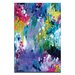 Artist Lane 'Dancing in the Rain' by Amira Rahim Art Print on Wrapped Canvas
