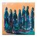 Artist Lane 'Bridesmaids' by Amira Rahim Art Print Wrapped on Canvas
