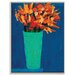 Artist Lane 'Yvonne Flowers' by Anna Blatman Framed Art Print on Wrapped Canvas