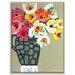 Artist Lane 'Maureen' by Anna Blatman Art Print Wrapped on Canvas