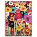 Artist Lane 'Simi Flowers' by Anna Blatman Framed Art Print on Wrapped Canvas