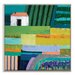 Artist Lane 'Elsternwick' by Anna Blatman Art Print on Wrapped Canvas