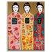 Artist Lane 'Lee Li Lo' by Anna Blatman Art Print on Wrapped Canvas