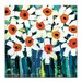 Artist Lane 'Darcy's Daisies' by Anna Blatman Art Print Wrapped on Canvas