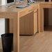 Home Etc Oakwood Computer Desk with Keyboard Tray