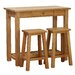 Alpen Home Millais Petite Console Table with 2 Stools