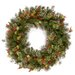 Alpen Home Fountain 61cm; Pinecone and Red Berry Wreath