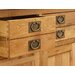 Alpen Home Millais Petite 2 Door 4 Drawer Sideboard