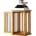 Alpen Home LaterneTozi Wood Lantern