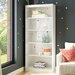 Prestington Dunbar Tall Narrow 180.98cm Standard Bookcase
