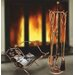 ChâteauChic Energicus Steel Fireplace Set