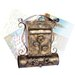 ChâteauChic Energicus Mailbox with Lock and Newspaper Holder