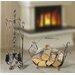 ChâteauChic Energicus 5 Piece Steel Fireplace Set