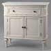 Château Chic Parma 2 Door 1 Drawer Cabinet