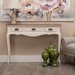 ChâteauChic Il Amore 3 Drawer Console Table