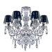 Glam Box Santurius 6 Light Crystal Chandelier