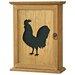 Vintage Boulevard Rion Cockerel Blackboard Key Box