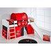 Wrigglebox Disney Cars European Single Mid Sleeper Bed