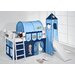Wrigglebox Bob the Builder European Single Mid Sleeper Bed