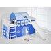 Wrigglebox Ida Tractor European Single Mid Sleeper Bed