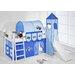 Wrigglebox Tractor European Single Mid Sleeper Bed