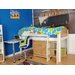 Wrigglebox Norfolk Single Mid Sleeper Bed with Storage