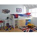 Wrigglebox Norfolk Single Mid Sleeper Bed with Storage