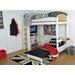 Wrigglebox Norfolk Single High Sleeper Bed with Storage