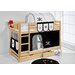 Wrigglebox Belle Pirate European Single Bunk Bed with Storage