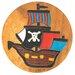 Wrigglebox Pirate Ship Children's Stool