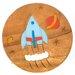 Wrigglebox Rocket Children's Stool