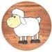 Wrigglebox Sheep Children's Stool