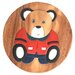 Wrigglebox Sitting Teddy Children's Stool