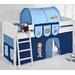Wrigglebox Ida Bob The Builder European Single Mid Sleeper Bed