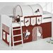 Wrigglebox Ida Horses European Single Mid Sleeper Bed