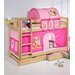 Wrigglebox Belle Filly European Single Bunk Bed with Storage