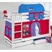 Wrigglebox Belle Spiderman Bunk Bed with Storage