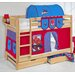 Wrigglebox Belle Spiderman European Single Bunk Bed with Storage