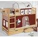Wrigglebox Belle Horses European Single Bunk Bed