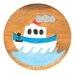 Wrigglebox Boat Children's Stool