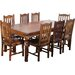 Ethnic Elements Ganga Sheesham Dining Table and 8 Chairs