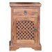 Ethnic Elements Kerala 1 Drawer Bedside Table