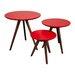Fjørde & Co Radius 3 Piece Side Table Set