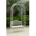 All Home Megrez 2 Seater Steel Arbour