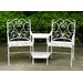 All Home Boscabel 2 Seater Steel Love Seat