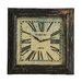 All Home New York Bantock Loft Distressed Wall Clock